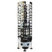 Электрическая печь для сауны Bonfire DM 120 с пультом управления СON1SX