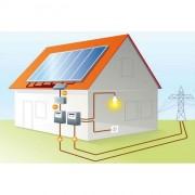 Сетевая солнечная электростанция 10 кВт