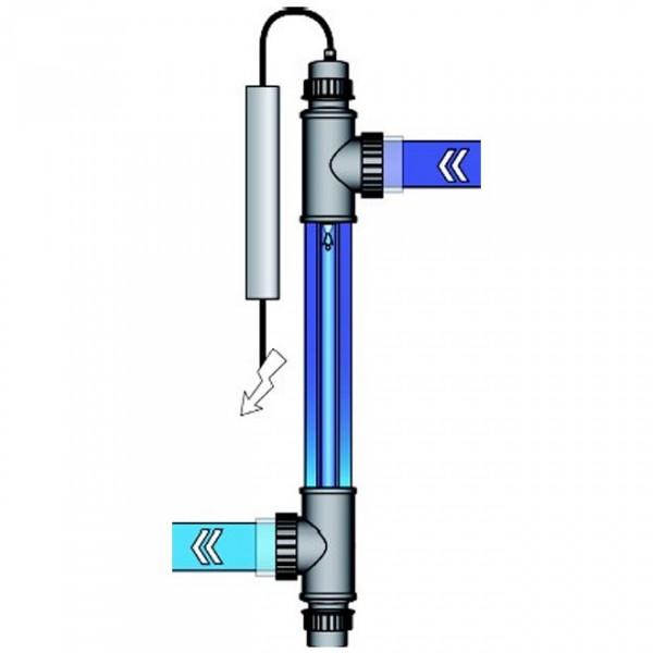 Ультрафиолетовая лампа 40Вт  Van Erp серии Blue Lagoon